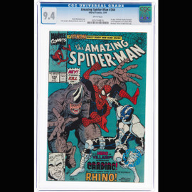 NM 9.4 White pages  (Marvel, 1991) The Amazing Spider-Man #344