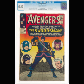 CGC VG 4.0 Slightly brittle pages (Marvel, 1965)  The Avengers #19