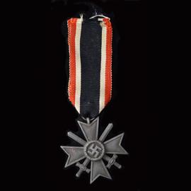 3rd Reich War Merit Cross with swords, 2nd class, zinc