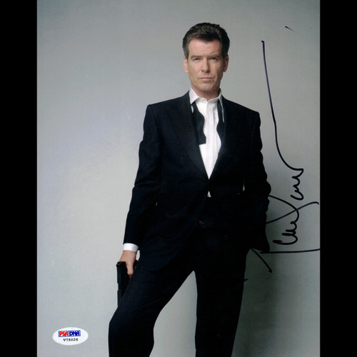 Certified Pierce Brosnan James Bond Autographed Signed 8x10 Photo