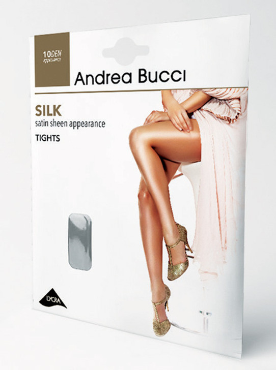 Andrea Bucci Sheer Silk 10 Denier Tights