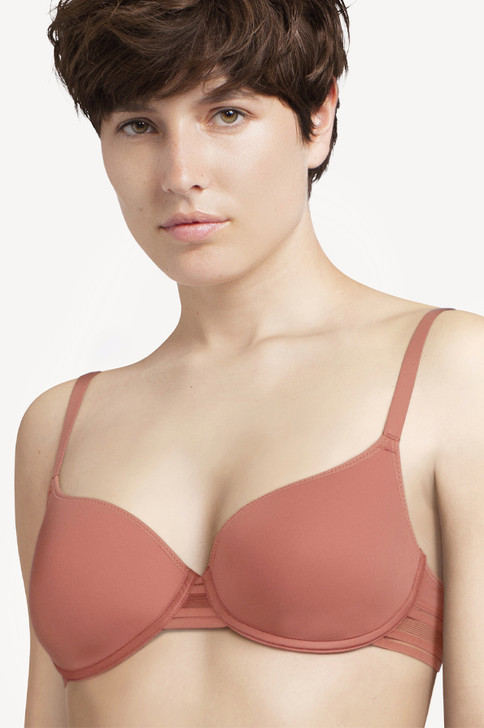 Passionata Rhythm T Shirt Bra in Rose Canyon