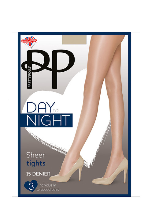 Pretty Polly Day To Night 15 Denier Tights 3 Pack