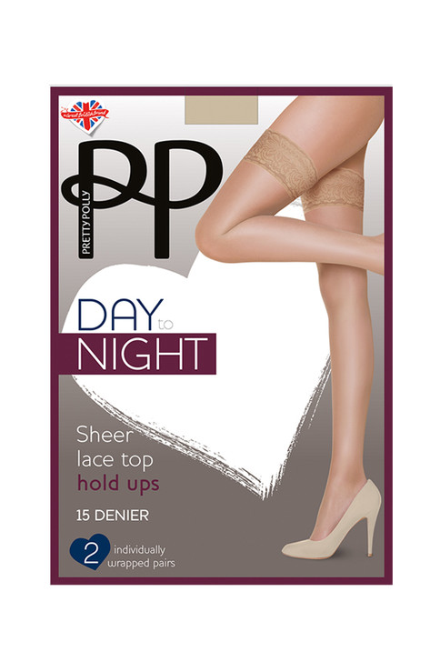 Pretty Polly Day To Night 15 Denier Hold Ups 3 Pack