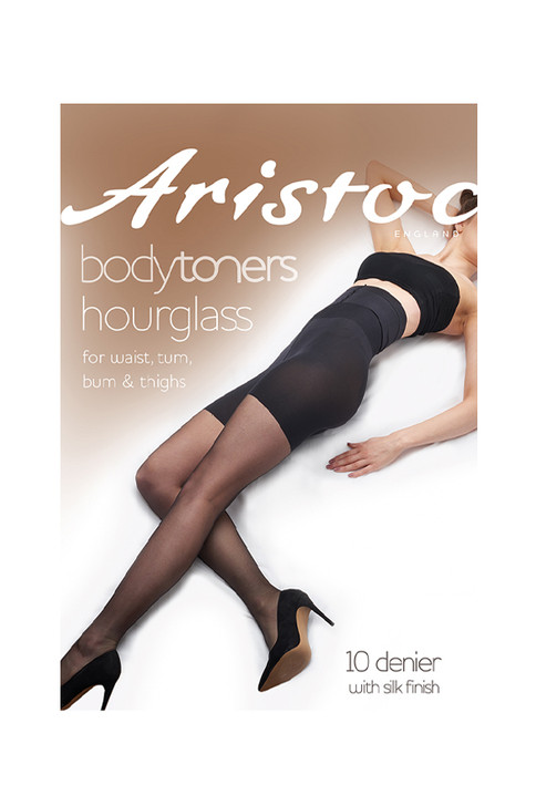 Aristoc Hourglass Toner 10 Denier Tights in black or nude