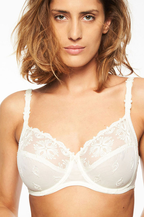 Chantelle Champs Elysees Very Covering Underwired Bra - Ivory