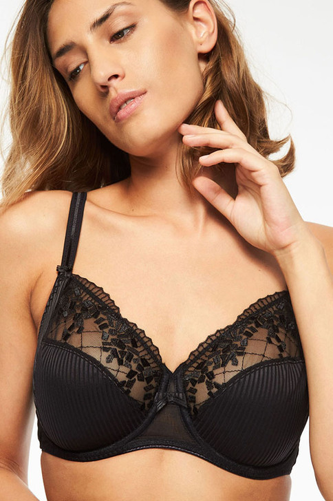 Chantelle Pont Neuf Full Cup Bra in Black