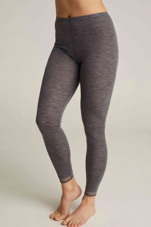 Femilet Juliana Merino Wool Legging in heather grey