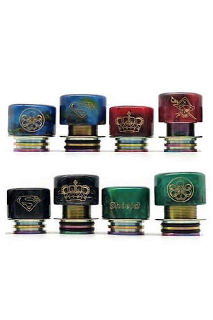 Shield Resin 810 Drip Tip