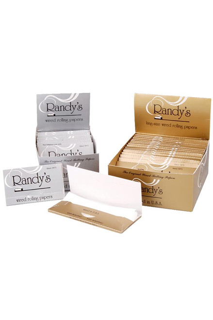 Randy's Wired Rolling Papers (25 Pack Display)