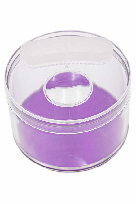 Storage Jar W/ Magnifier and Vent