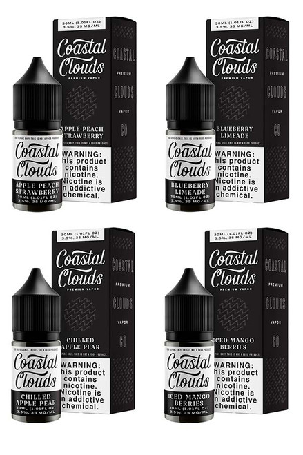 Coastal Clouds Salt E-Liquid - 30ml