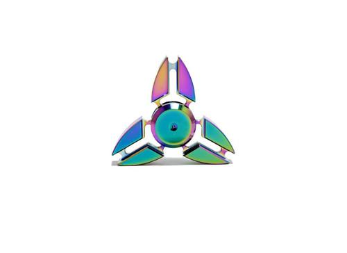 Fidget Spinner Rainbow Round