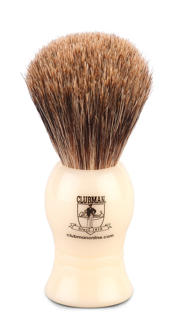 Clubman Online Pure Badger Shave Brush 100mm