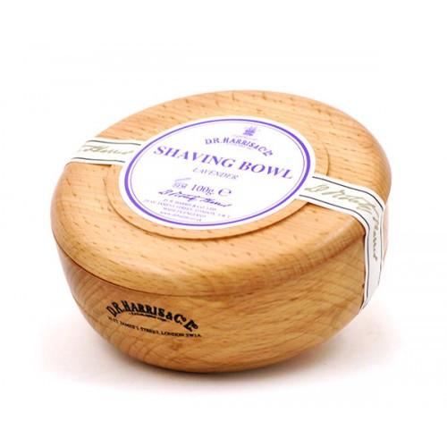 D.R. Harris - Wood Shave Bowl, Lavender