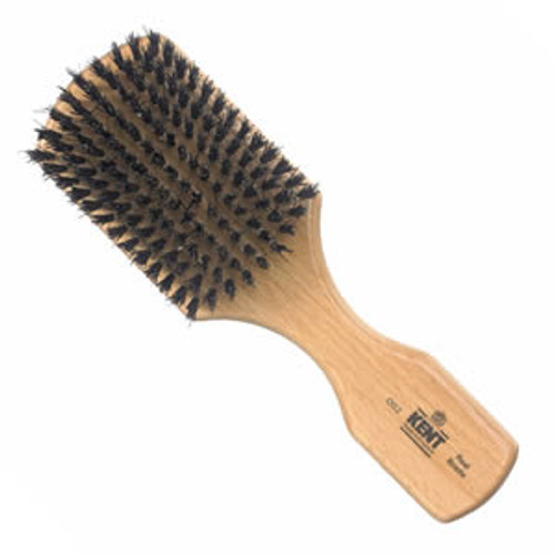 Kent - Hair Brush, Club Style, Black Bristle