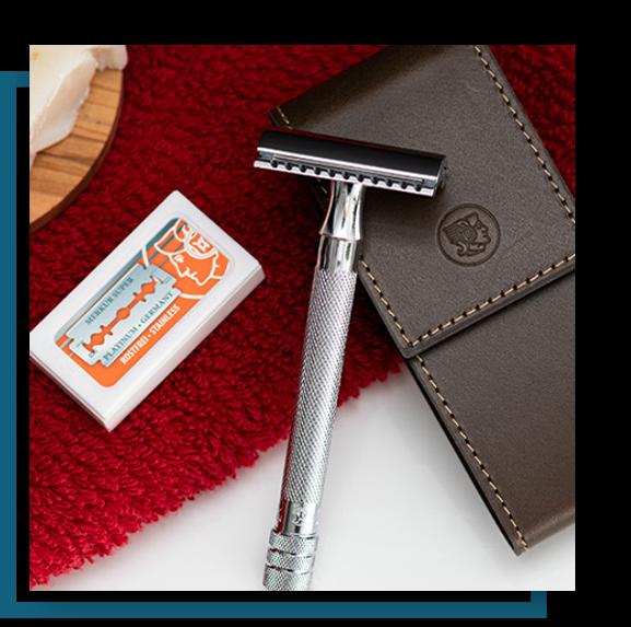 merkur classic shaving