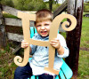Curlz Uppercase Letters WS