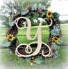 Monogram Letter Uppercase WS