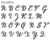 MIRACELLA Uppercase Letters WS