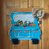 Pickup Truck Unfinished Cutout, Wooden Shape,  DIY Craft WS