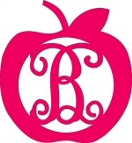 Apple Framed Monogram Letter WS