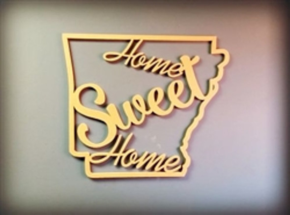 State Frame Home Sweet Home WS