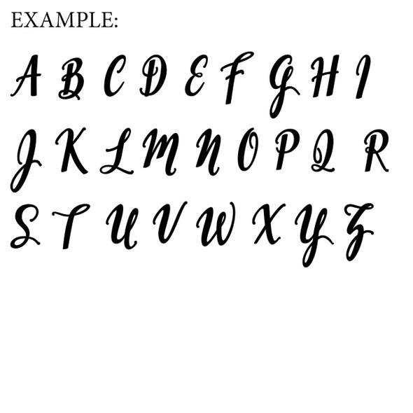 EMILLIA Uppercase Letters WS