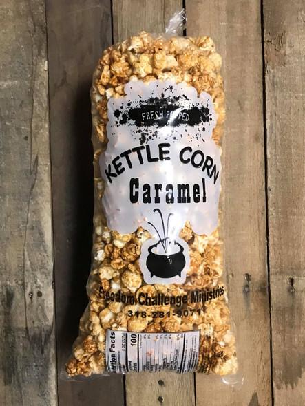 3 Bags of Carmel Kettle Corn