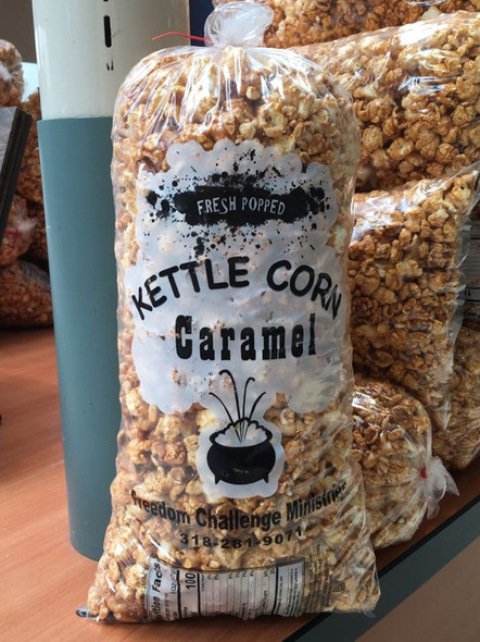 3 Bags of Carmel Kettle Corn, Special Offer, Free Shipping
