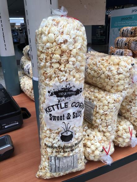 3 Bags of Sweet & Salty Kettle Corn