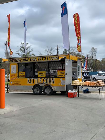 Large Bag of Caramel Kettle Corn, Single Bag