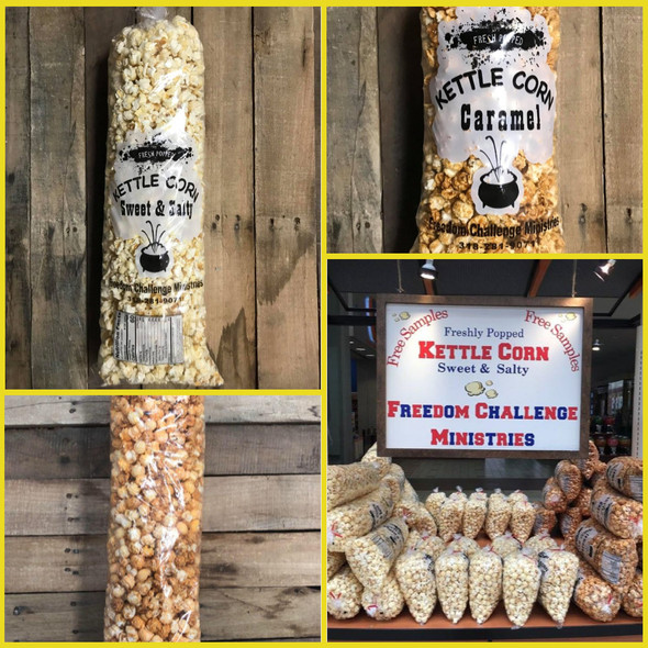 50% OFF at Checkout Kettle Corn Large Bag-One Bag, Any Flavor WS