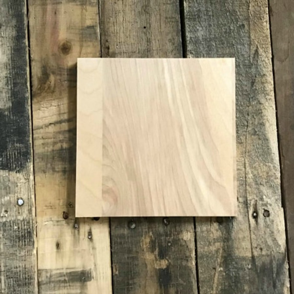 """CLEARANCE Unfinished Dropout 9"""" x 9"""" Farmhouse Decor Sign WS"""