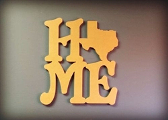 "CLEARANCE IN-STOCK (not Painted) Unfinished Home Texas State 18"", Wooden Finished Home"