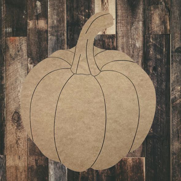 Fall Pumpkin Wooden Shape, Paint by Line ,Wood Craft Cutout, WS
