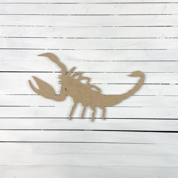 Scorpion, Unfinished Craft, DIY Art, WS