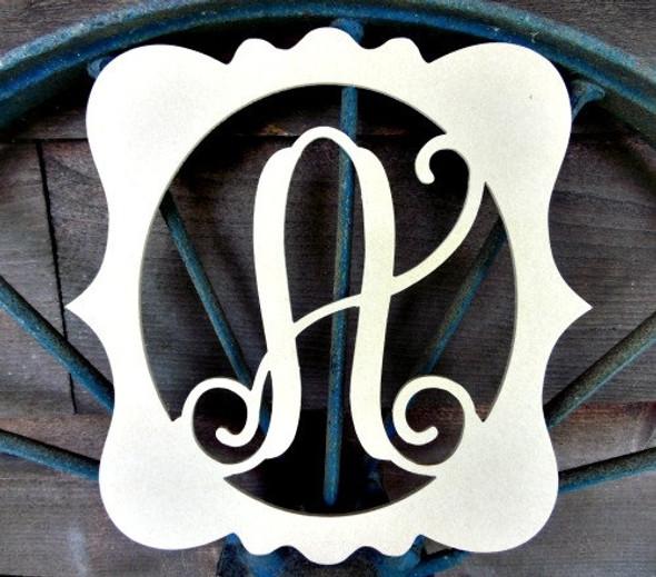 Katie Frame Monogram Letters WS