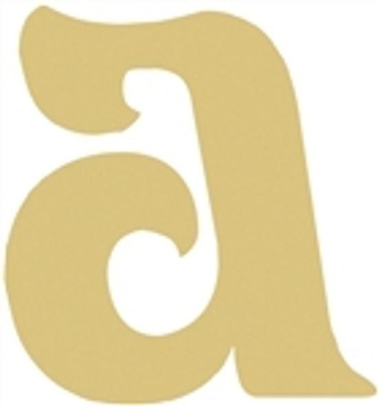 Lowercase Beltorian Letters WS