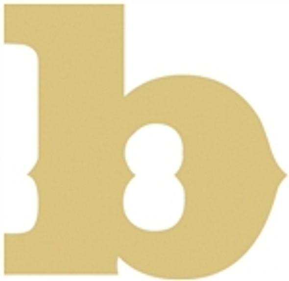 Lowercase Saddlebag Letters WS