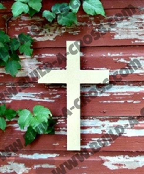 UNFINISHED WOODEN CROSS PAINTABLE WALL HANGING STACKABLE CROSS (44)WSb