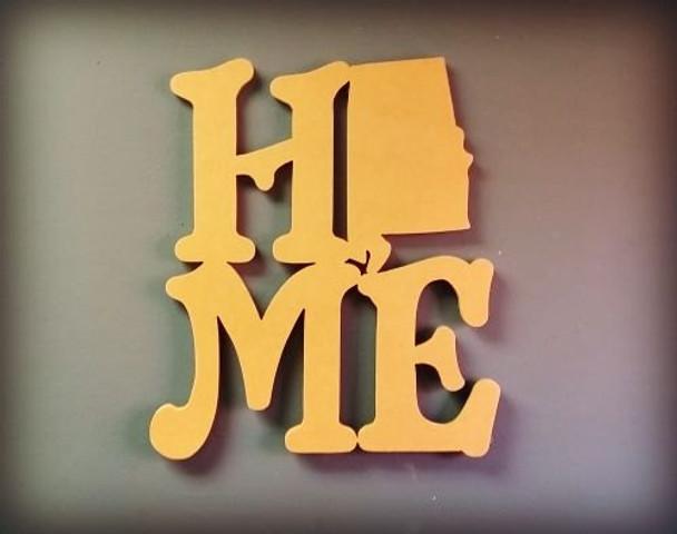 Home State Door Hanger WS