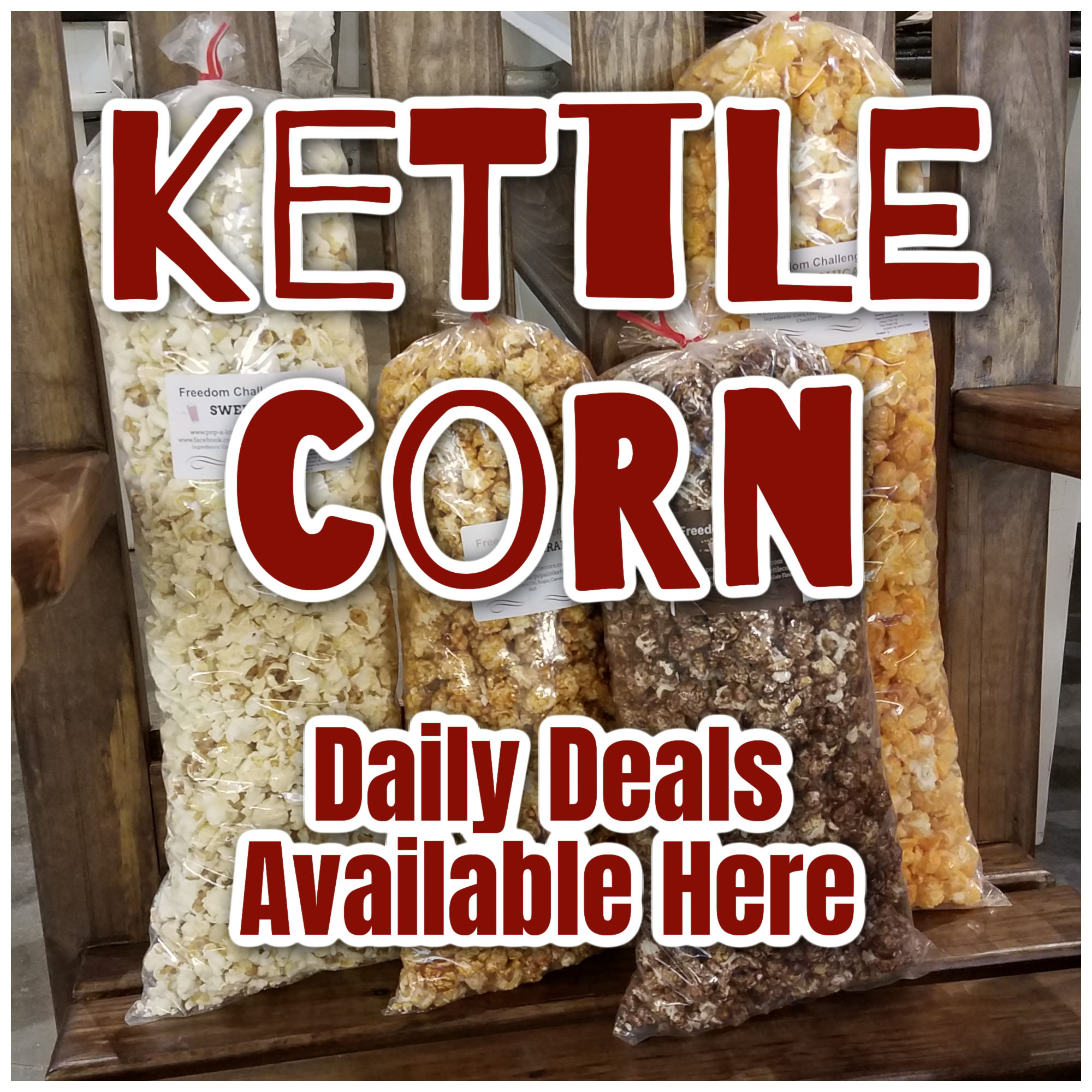 Kettle Corn 40% Off Sale!