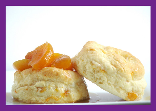 Southern-inspired. Peach season is here and we combined two of the south's favorite eats...biscuits and cobblers. You cannot go wrong with this combination.