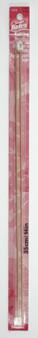 "Susan Bates Silvalume 2-Pack 14"" Single Point Knitting Needles (Size US 0 - 2 mm)"