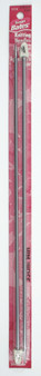"Susan Bates Silvalume 2-Pack 14"" Single Point Knitting Needles (Size US 5 - 3.75 mm)"