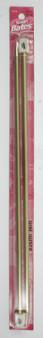 "Susan Bates Silvalume 2-Pack 14"" Single Point Knitting Needles (Size US 10 - 6 mm)"