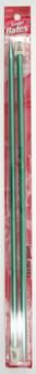 "Susan Bates Silvalume 2-Pack 14"" Single Point Knitting Needles (Size US 10.5 - 6.5 mm)"