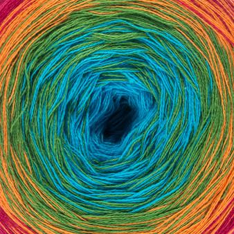 Red Heart Fiesta It's A Wrap Rainbow Yarn (1 - Super Fine)
