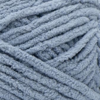 Bernat Gray Blue Blanket Yarn - Big Ball (6 - Super Bulky)